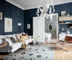 Spotlight on color: un appartamento dedicato agli amanti del blu