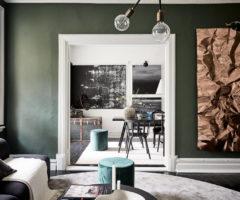 Interior Inspiration: stucchi, tocchi di colore e dettagli originali