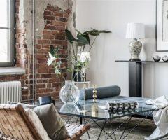 Interior Inspiration: mattoni a vista e tanta luce per un loft in una ex fabbrica