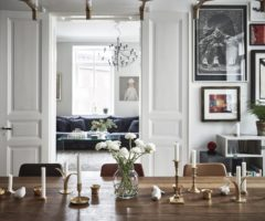 Get the look: stile eclettico e sofisticato per un interno cittadino
