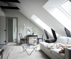 Tiny&cozy: una piccola mansarda dallo stile invidiabile