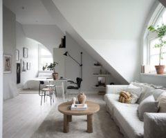 Tiny&cozy: un monolocale luminoso tutto da vivere
