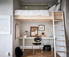 Tiny&cozy: un monolocale di soli 29 mq tutto da vivere