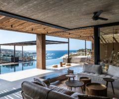 Interior Inspiration: villa Matteo una casa da sogno sospesa tra il cielo e il mare di Creta