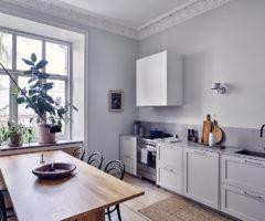 Interior Inspiration: il grigio prende vita con il vimini e i colori naturali