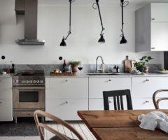 Interior Inspiration: come utilizzare l'iconica Lampe Gras per illuminare la cucina