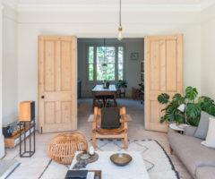 Interior Inpiration: una casa vittoriana dal decor sofisticato con grandi pezzi di design