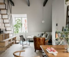 Interior Inspiration: la ristrutturazione di un antico edificio svedese