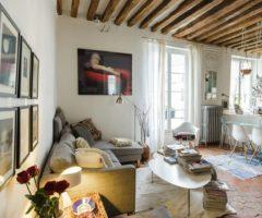 Airbnb series: stile shabby chic per un piccolo appartamento parigino