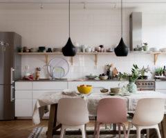 Spotlight on color: una casa di famiglia colorata e accogliente (per gli amanti del rosa)