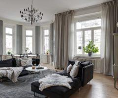 Interior inspiration: una casa in perfetto stile nordico con eleganti accenni di nero
