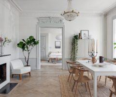 Interior Inspiration: stile moderno per un appartamento classico