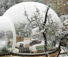 Hotel Attrap'reves, dormire in una bolla