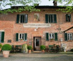 Trattoria dei Cacciatori – pranzare in un castello
