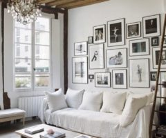 Un appartamento in bianco a Parigi