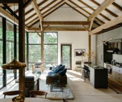 Interior Inspiration: la ristrutturazione di un fienile nella valle dell'Hudson