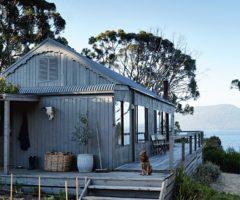 Una casa in riva al mare a Satellite Island, in Tasmania