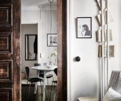 44 mq per un interno svedese – il fascino del legno