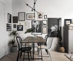 Decor tips: una parete piena di quadri