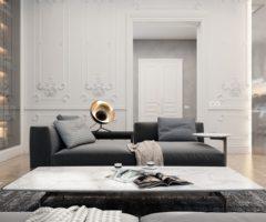 Mix di stili per un appartamento parigino