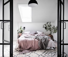 Interior Inspiration: Una mansarda svedese piccola e favolosa