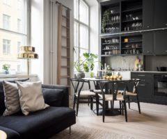 Tiny & cozy: 40 mq per un interno compatto e impeccabile