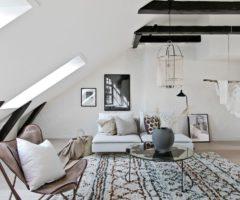 Interior inspiration:  56 mq di openspace