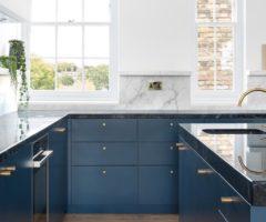Interior Inspiration: linee pure e mood minimal per una casa londinese