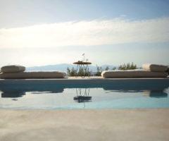 Summer holidays: una casa minimalista tra cielo e mare a Paros