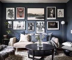 Spotlight on color: il blu declinato in stile svedese