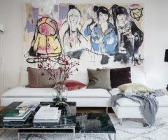 Interior inspiration: un interno ispirato con un mix di colori insolito