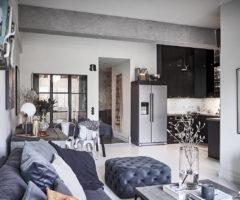 Tiny&cozy: ispirazione loft per un piccolo appartamento di 67 mq