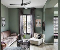 Spotlight on color: un insolito mix di verde salvia e color cipria