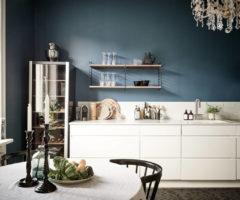 Spotlight on color: Classic Blue, il colore dell'anno per una cucina chic e affascinante