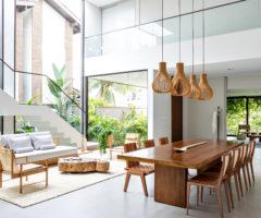 Interior inspiration: una casa dai tratti tropicali nei dintorni di San Paolo