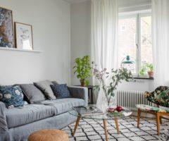 Spotlight on color: un mix di colori e textures per un appartamento cozy