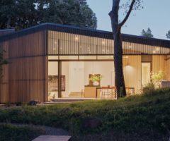 Interior inspiration: un ranch moderno portavoce dell'architettura ambientale