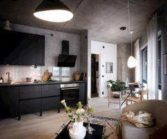 Interior Inspiration: un appartamento openplan in stile loft