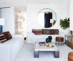 Interior inspiration: una casa color sabbia affacciata sull'oceano