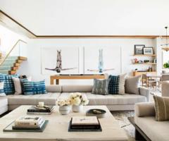 Interior inspiration: un' oasi a Malibù per una famiglia molto accogliente