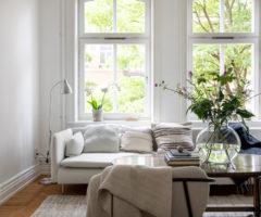 Interior Inspiration: un appartamento pieno di luce affacciato sul parco