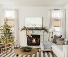 In the mood for Christmas: una bellissima casa e il suo Natale con tanto verde