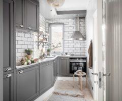 Get the look: come tirare fuori il meglio da una cucina stretta